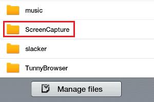 """Passo 4. Localizar a pasta """"ScreenCapture"""" no Samsung Galaxy Tab (Foto: Reprodução/Dalton Oliveira)"""