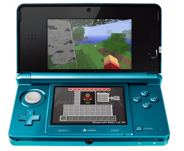 Minecraft for 3ds - b038
