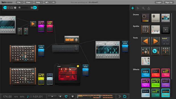 Burn Studios Audiotool (Foto: Divulgação)