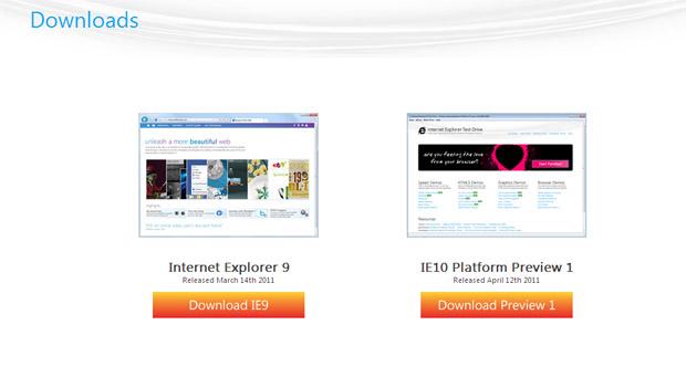 Internet Explorer 10 Preview 1 (Foto: Reprodução)