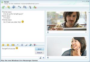 Janela de mensagens do MSN (Foto: Divulgação)