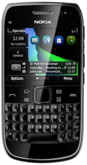 Nokia E6 (Foto: Divulgação)