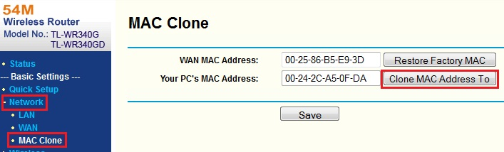 MAC Address (Foto: Reprodução/Daniele Monteiro)