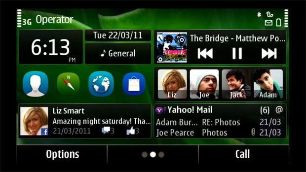 Aparência do novo sistema da Nokia (Foto: Reprodução)