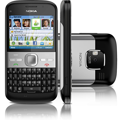 Nokia E5 1 (Foto: Divulgação)