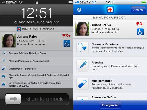 Socorro, aplicativo para iPhone e iPod touch (Foto: Divulgação)