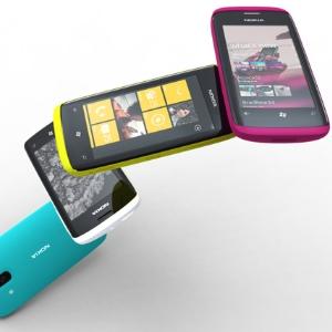 Nokia com Windows Phone 7 (Foto: Divulgação)