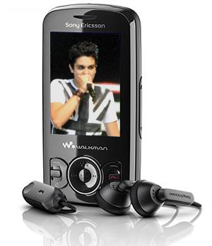 Sony Ericsson W100 Luan Santana (Foto: Arte)