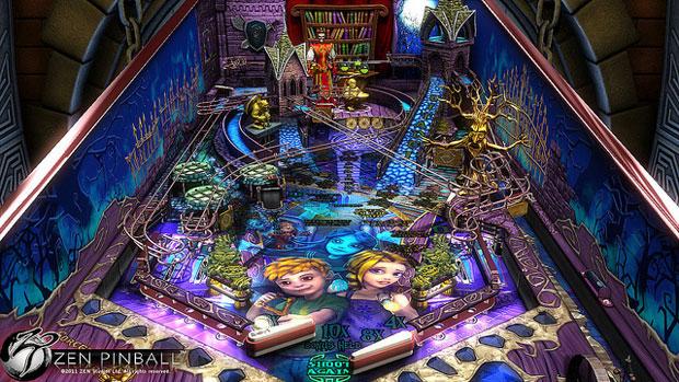 Zen pinball recebe mesa cheia de magia em breve not cias for Pinball de mesa
