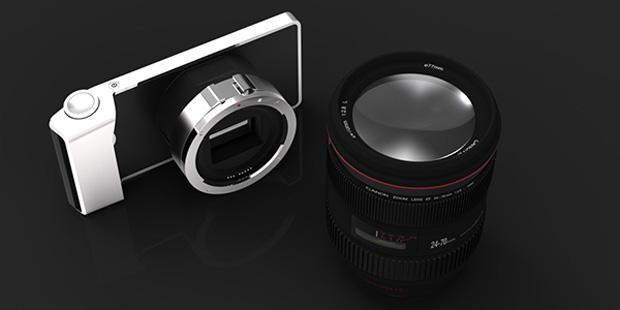 Conceito de câmera com smartphone (Foto: Divulgação)