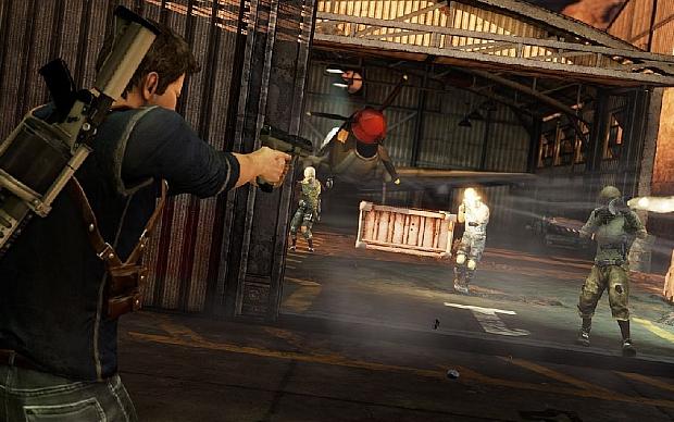 Uncharted 3 multiplayer  (Foto: Divulgação)