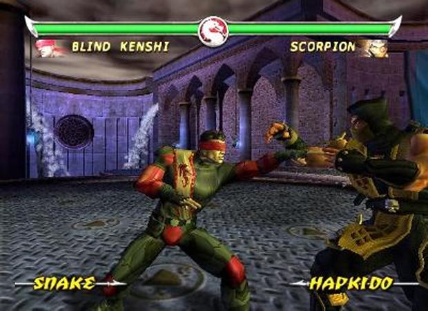 Primeira aparição de Kenshi em Mortal Kombat: Deadly Alliance  (Foto: Divulgação)