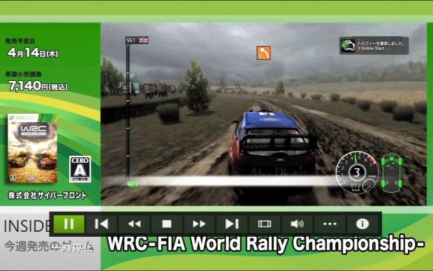 Cena com o fiasco na apresentação de WRC: FIA World Rally Championship (Foto: Divulgação)