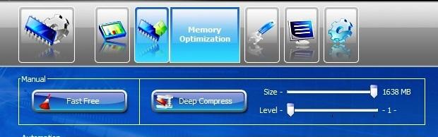 Programa comprime e libera memória em um só clique (Foto: Reprodução/Fox Xavier)