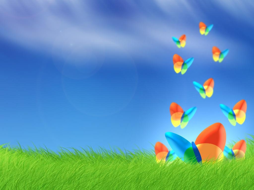 Imagem MSN Bliss, disponível no BaixaTudo para ser seu cenário no MSN (Foto: Divulgação)