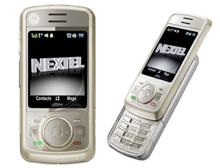 Nextel Motorola I856W  (Foto: Divulgação)