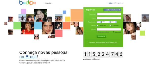 Badoo, a rede social que está chegando no Brasil (Foto: Reprodução)