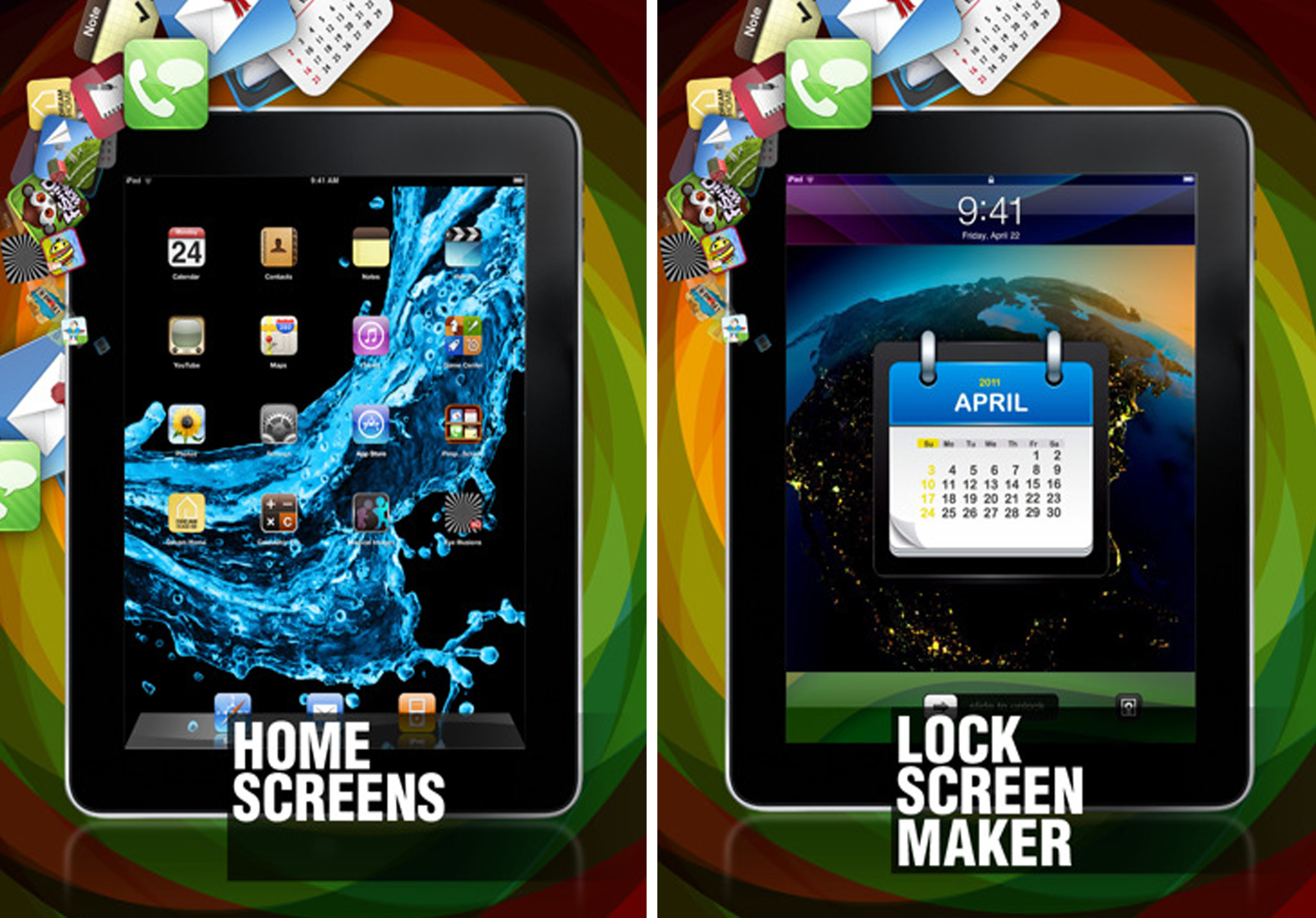 Pimp Your Screen no iPad. (Foto: Divulgação)