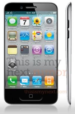 Mockup do iPhone 5 (Foto: Reprodução)
