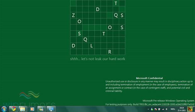 Nova tela do Windows 8 (Foto: Reprodução/Winrumors)