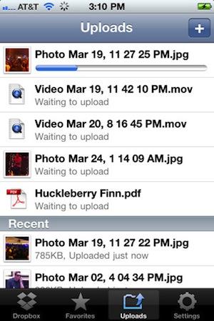 Dropbox para iOS (Foto: Divulgação)