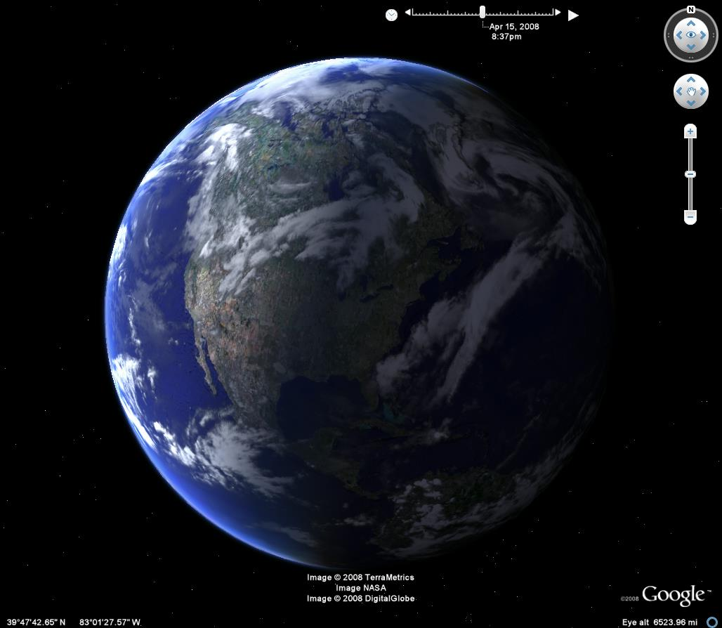Google Earth oferece imagens avançadas de lugares em todo o mundo (Foto: Divulgação)