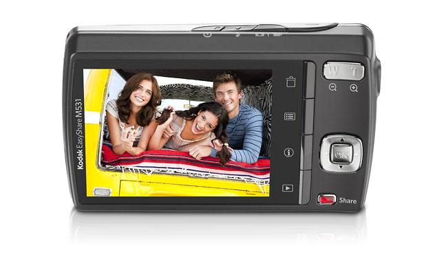 Kodak Easy Share tela (Foto: Divulgação)