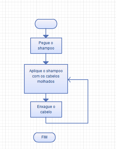 Fluxograma do Shampoo (Foto: Reprodução/Gustavo Ats)