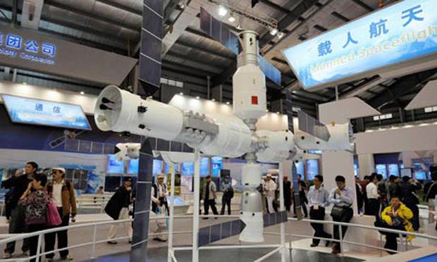 Protótipo da estação espacial (Foto: Divulgação)