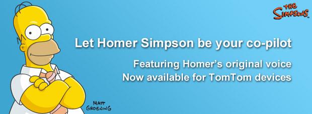 Homer Simpson e TomTom (Foto: Divulgação)