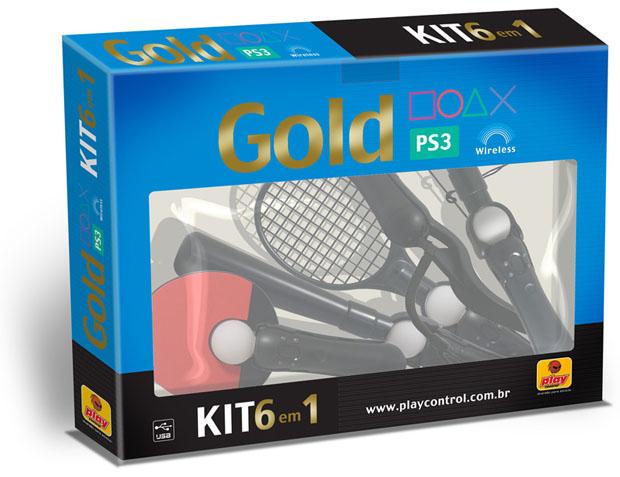 Kit Esporte 6 em 1 para Playstation Move (Foto: Divulgação)