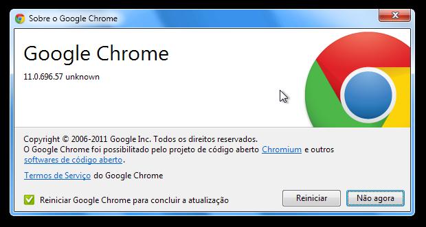 Chrome 11 (Foto: Reprodução/Paulo Higa)