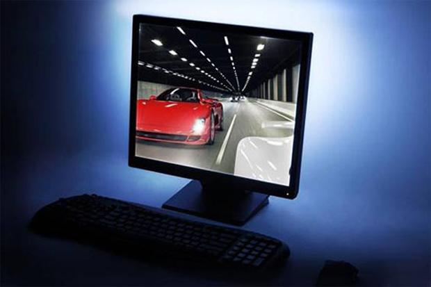 Monitor com o kit de luzes LED (Foto: Divulgação)