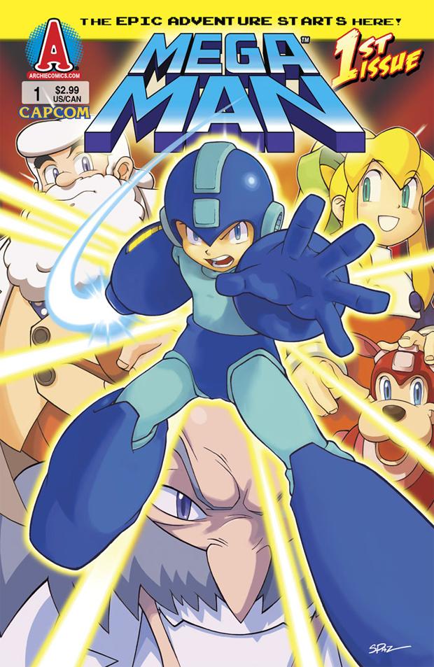 Capa de Mega Man #1 (Foto: Archie Cmics)