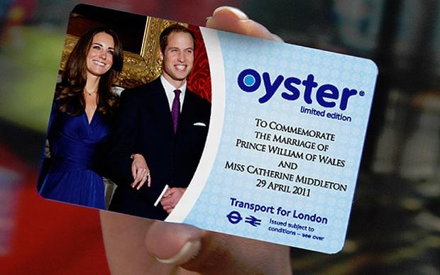 """Royal """"Oyster Card"""" (Foto: Divulgação)"""