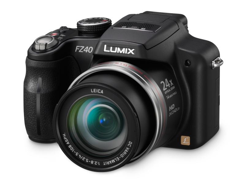 Panasonic Lumix DMC-FZ40 (Foto: Divulgação)
