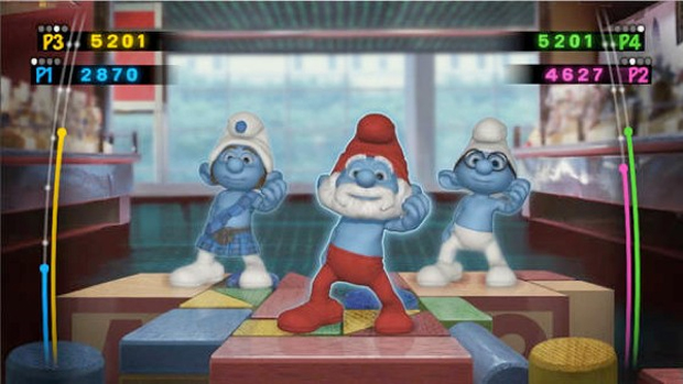 Smurfs Dance Party (Foto: Joystiq)