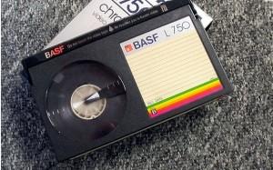 Fita Betamax da Basf (Foto: Wikicommons)