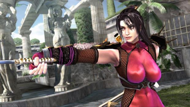 A ninja Taki é uma das lutadoras de SoulCalibur (Foto: Divulgação)