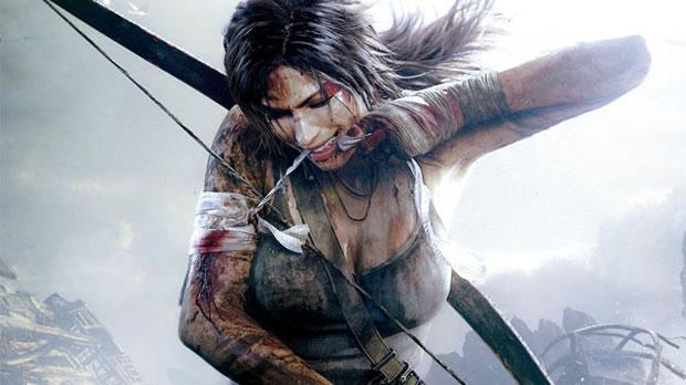 Lara Croft mais jovem no novo Tomb Raider (Foto: Divulgação)