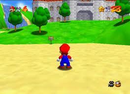 Super Mario 64 (Foto: Divulgação)