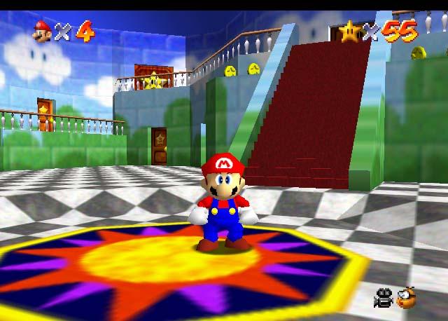 Super Mario 64 foi o primeiro da série a ser tridimensional (Foto: Divulgação)