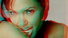 Angelina Jolie em 3D (Foto: Reprodução)