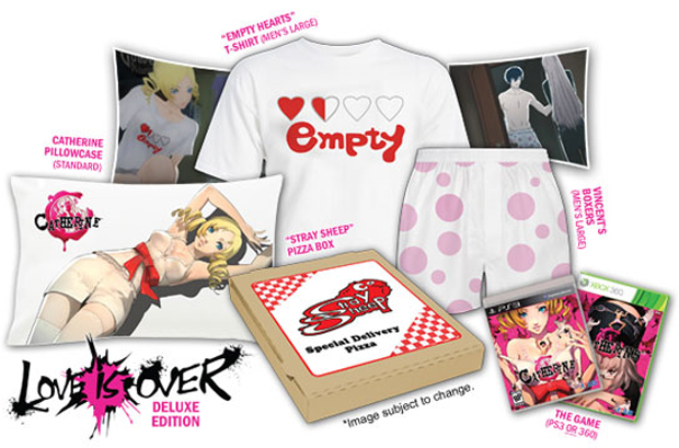 """Catherine """"Love is Over"""" Deluxe Edition (Foto: Kotaku)"""