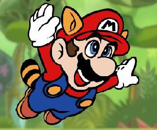 Jogo do Mario na floresta (Foto: Divulgação)