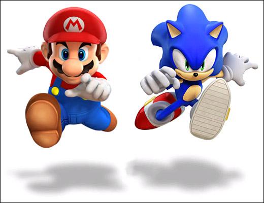 Jogos do Mario e do Sonic (Foto: Divulgação)