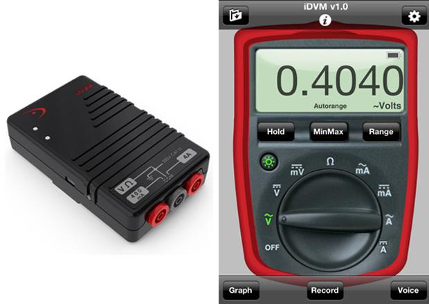 Multímetro e aplicativo para medir corrente elétrica (Foto: Divulgação)