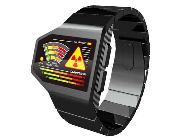 Radiation Level LED Watch Design (Foto: Divulgação)