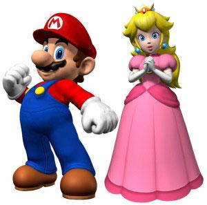 Super Mario defend Peach (Foto: Divulgação)
