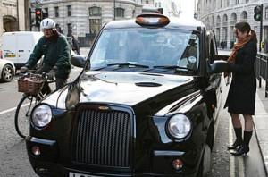 Taxi londrino (Foto: London Evening Standard)